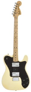 Musical Instruments:Electric Guitars, 1977 Fender Telecaster Deluxe Olympic White Solid Body Electric Guitar, Serial # S705768....