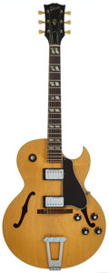 Musical Instruments:Electric Guitars, Circa 1971 Gibson ES-175 Natural Archtop Electric Guitar, Serial #967659....