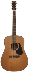 Musical Instruments:Acoustic Guitars, 1997 Martin D-1 Natural Acoustic Guitar, Serial # 592558....