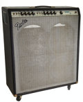 Musical Instruments:Amplifiers, PA, & Effects, Late 1970's Fender Bassman Ten Black Guitar Amplifier, Serial # F953508....