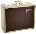 Musical Instruments:Amplifiers, PA, & Effects, 1959 Gibson GA-6 Lancer Tweed Guitar Amplifier, Serial # 27932....