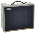 Musical Instruments:Amplifiers, PA, & Effects, 1950's White Model 80 Grey Guitar Amplifier, Serial # A500181....