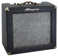 Musical Instruments:Amplifiers, PA, & Effects, 1959 Ampeg Jet J-12 Blue Guitar Amplifier, Serial # 906030....