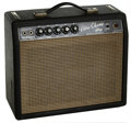 Musical Instruments:Amplifiers, PA, & Effects, 1964 Fender Vibro Champ Black Guitar Amplifier, #A00301....