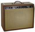 Musical Instruments:Amplifiers, PA, & Effects, 1961 Fender Deluxe Amplifier Brown Guitar Amplifier, Serial # D00100....