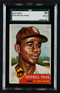 Baseball Cards:Singles (1950-1959), 1953 Topps Satchell Paige #220 SGC 30 Good 2....