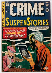Crime SuspenStories #1 (EC, 1950) Condition: GD/VG