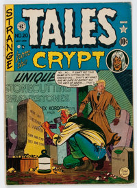Tales From the Crypt #20 (EC, 1950) Condition: GD