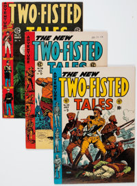 Two-Fisted Tales #38, 39, and 41 Group (EC, 1954-55) Condition: Average VF.... (Total: 3 Comic Books)