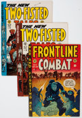 Golden Age (1938-1955):Miscellaneous, EC Comics War Related Group (EC, 1950s) Condition: Average FN.... (Total: 4 Comic Books)