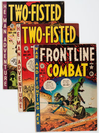 EC Comics War Related Group (EC, 1950s) Condition: Average GD/VG.... (Total: 14 Comic Books)