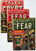 Golden Age (1938-1955):Horror, EC Comics Horror Related Group (EC, 1950s) Condition: Average VG-.... (Total: 3 Comic Books)