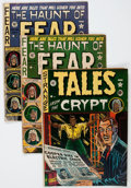 Golden Age (1938-1955):Horror, EC Comics Horror Group (EC, 1950s) Condition: Apparent GD.... (Total: 6 Comic Books)