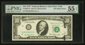 Error Notes:Ink Smears, Fr. 2023-B $10 1977 Federal Reserve Note. PMG About Uncirculated 55EPQ.. ...