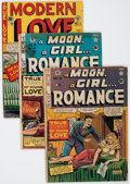 Golden Age (1938-1955):Miscellaneous, EC Comics Romance Group (EC, 1949-50) Condition: Average FR.... (Total: 8 Comic Books)