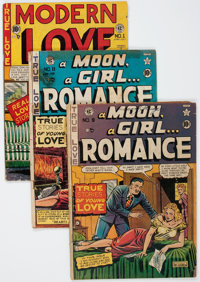 EC Comics Romance Group (EC, 1949-50) Condition: Average FR.... (Total: 8 Comic Books)