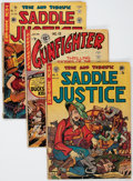 Golden Age (1938-1955):Miscellaneous, EC Comics Western Related Group (EC, 1948-50) Condition: Average FR/GD.... (Total: 11 Comic Books)