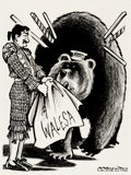 "Mainstream Illustration, BILL MAULDIN (American, 1921-2003). ""Walesa,"" Chicago Sun-Timeseditorial cartoon, 1983. Ink, pencil, and Conté crayon o..."