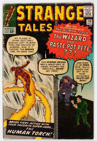 Strange Tales #110 (Marvel, 1963) Condition: GD+