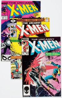 X-Men Short Box Group (Marvel, 1978-89) Condition: Average NM-