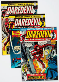 Daredevil Short Box Group (Marvel, 1974-86) Condition: Average NM