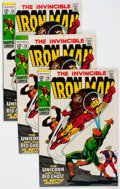 Silver Age (1956-1969):Superhero, Iron Man #15 Group Including Variants (Marvel, 1969) Condition: Average FN.... (Total: 6 Comic Books)