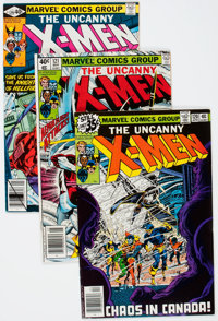 X-Men Multiple Copies Group (Marvel, 1979-80-) Condition: Average VF.... (Total: 31 Original Art)