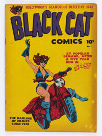 Black Cat Comics #1 (Harvey, 1946) Condition: GD/VG