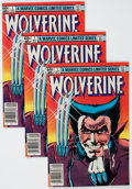 Modern Age (1980-Present):Superhero, Wolverine Limited Series #1 Group (Marvel, 1982) Condition: AverageVF-.... (Total: 7 Comic Books)