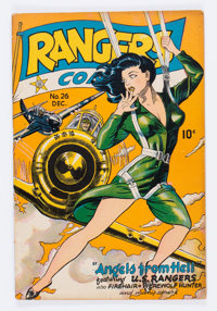 Rangers Comics #26 (Fiction House, 1945) Condition: VG/FN