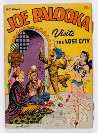 Joe Palooka Visits the Lost City nn (Harvey, 1945) Condition: FR