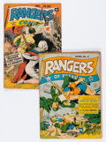 Golden Age (1938-1955):War, Rangers Comics #4 and 20 Group (Fiction House, 1942-44).... (Total:2 Comic Books)