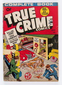 Complete Book of True Crime Comics #nn (Wm. H. Wise & Co., 1945) Condition: FR/GD