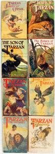 Books:Science Fiction & Fantasy, Edgar Rice Burroughs. Group of Eight Books from the Tarzan Series. New York: Grosset & Dunlap, [various dates]. ... (Total: 8 Items)
