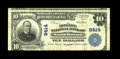 National Bank Notes:Virginia, South Boston, VA - $10 1902 Plain Back Fr. 626 The Boston NB Ch. #8414. This $10 has been held by our consignor since t...