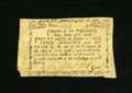 Colonial Notes:Massachusetts, Massachusetts June 18, 1776 3s/6d Very Fine-Extremely Fine. Alovely example of this very scarce issue from which we have on...