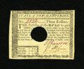 Colonial Notes:New Hampshire, New Hampshire April 29, 1780 $3 Choice About New. There is a lightcenterfold found on this otherwise superb looking New Ham...