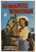Golden Age (1938-1955):Romance, Romantic Western #3 Mile High pedigree (Fawcett, 1950) Condition:VF+. Last issue of the title. Photo cover. Overstreet 2006...