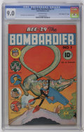 """Golden Age (1938-1955):Funny Animal, Bee-29 The Bombardier #1 Davis Crippen (""""D"""" Copy) pedigree (NealPublications, 1945) CGC VF/NM 9.0 Off-white pages. Funny An..."""