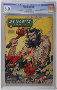 """Dynamic Comics #20 Davis Crippen (""""D"""" Copy) pedigree (Chesler, 1946) CGC FN 6.0 Off-white pages. Bare-breasted..."""
