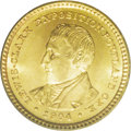 Commemorative Gold: , 1904 G$1 Lewis and Clark MS65 PCGS. Exceptionally crisp strikingdetails and remarkably effulgent luster are keys to the Ge...