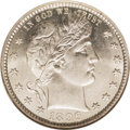 Barber Quarters: , 1896-S 25C MS65 NGC. Obverse Die 2, Reverse Die 2, from DavidLawrence's The Complete Guide to Barber Quarters.. A...
