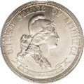 1869 25C Standard Silver Quarter Dollar, Judd-721, Pollock-802, R.5, PR64 PCGS. The obverse features a bust right of Lib...