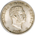 Coins of Hawaii: , 1883 25C Hawaii Quarter MS63 ANACS. NGC Census: (100/303). PCGSPopulation (226/418). Mintage: 500,000. (#10987)...