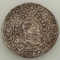 German States:Saxony, German States: Saxony. Johann Georg & August Taler 1614 VF Mounted,...