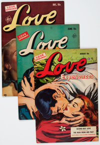 Love Experiences Group (Ace, 1951-55) Condition: Average VG/FN.... (Total: 14 Comic Books)