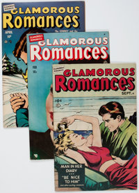 Glamorous Romances Group (Ace, 1949-56) Condition: Average FN/VF.... (Total: 24 Comic Books)