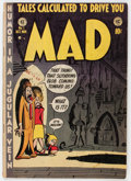 Golden Age (1938-1955):Humor, Mad #1 (EC, 1952) Condition: GD....