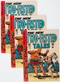 Two-Fisted Tales #39 Group (EC, 1954) Condition: Average VF.... (Total: 3 Comic Books)