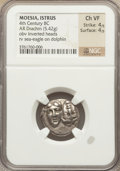 Ancients:Greek, Ancients: MOESIA. Istrus. 4th century BC. AR drachm (5.42 gm)....